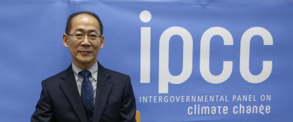 Hoesung Lee, ordförande för IPCC. 43rd Session of the Intergovernmental Panel on Climate Change (IPCC-43) 11-13 April 2016 i Nairobi, Kenya. Bild: IISD/ENB   Kiara Worth