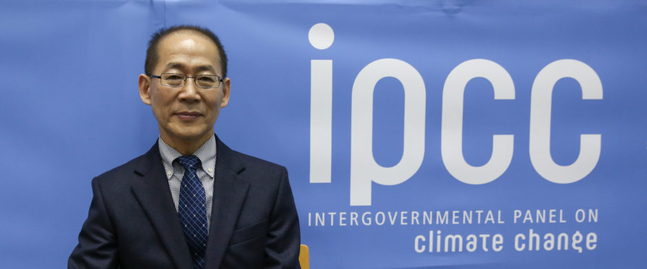 Hoesung Lee, ordförande för IPCC. 43rd Session of the Intergovernmental Panel on Climate Change (IPCC-43) 11-13 April 2016 i Nairobi, Kenya. Bild: IISD/ENB | Kiara Worth