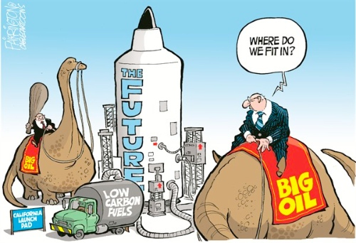 Future of Fossil Fuels, Brian Fairrington, Cagle Cartoons