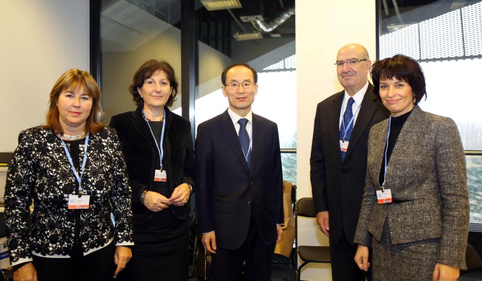 Ministrar från länderna i EIG - The Environment Integrity Group. Källa: IISD