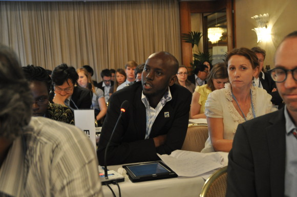 Equity Reference Framework presenterat av Mohamed Adow för Climate Action Network (CAN) under klimatmötet i Bonn 2013.