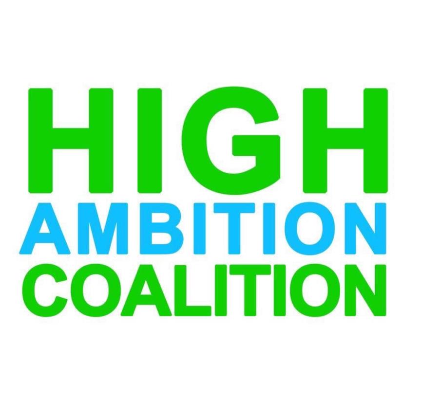 High Ambition Coalition blir på svenska Koalitionen för hög ambition.