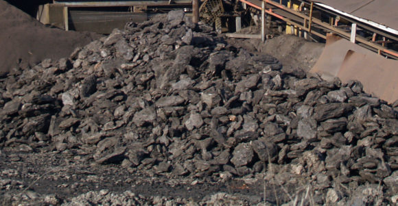 Brunkol från Chukurovo-gruvan i Bulgarien. Bild: Anton Lefterov