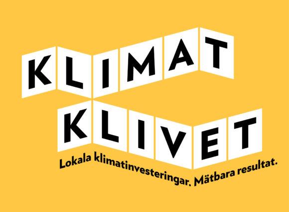 Klimatklivets logotyp. Bild: Naturvårdsverket