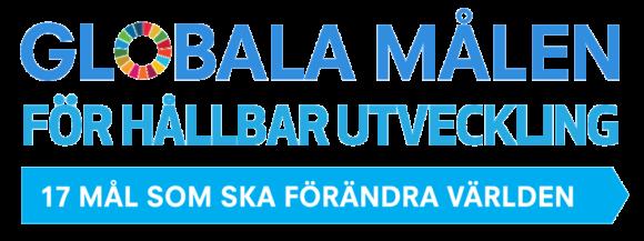 """De globala målen för hållbar utveckling kallas ibland förkortat för """"Hållbarhetsmålen"""". Bild: UNDP Sverige"""