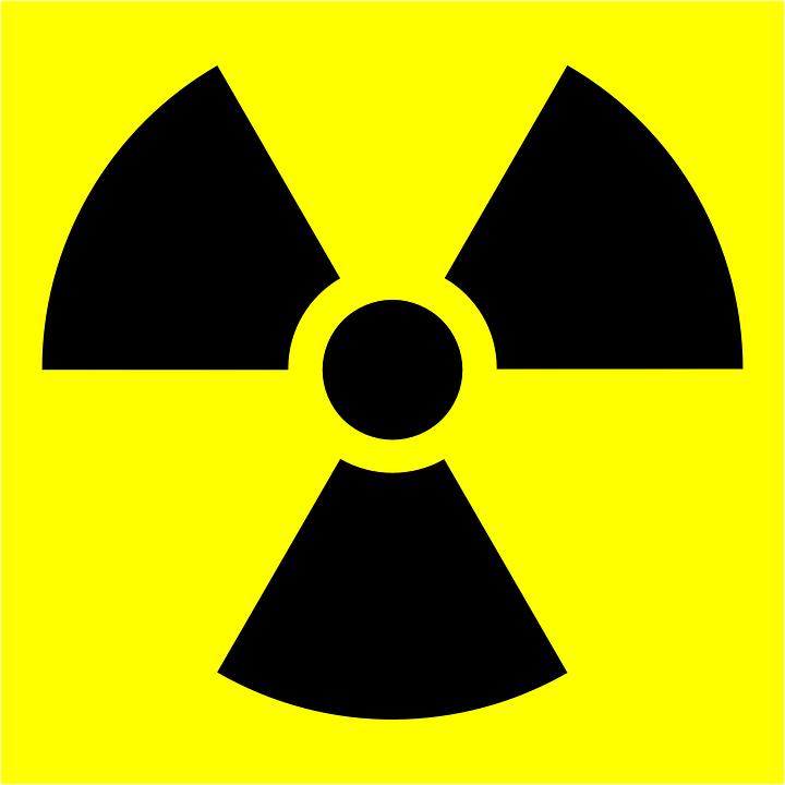 Internationelll symbol för radioaktivitet