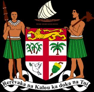 Värd för COP23 är Fiji, på bilden Fijis statsvapen. Bild: The Fijian Government