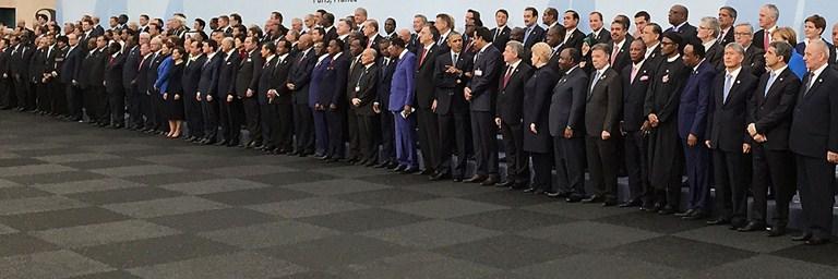 Högnivådelen av ett COP-mötet, High Level Segment, har hittills lidit av tämligen sned könsfördelning. Bild: UNFCCC