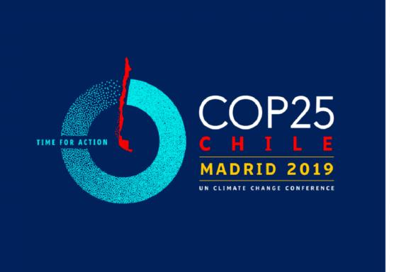 COP25 Santiago de Chile --> Madrid 2019 - Officiell uppdaterad logotyp